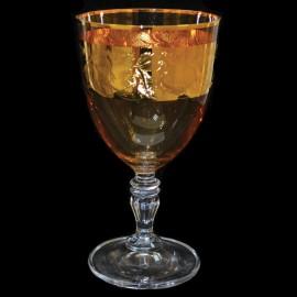 Бокалы для вина Глория 437761 панто на золоте 200 мл. 6 шт. Crystalex Bohemia