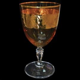 Бокалы для вина Глория 437761 панто на золоте 250 мл. 6 шт. Crystalex Bohemia