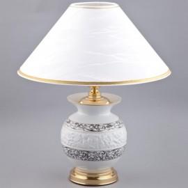 Настольная лампа из фарфора с рельефом 19 см 19198219-B936k