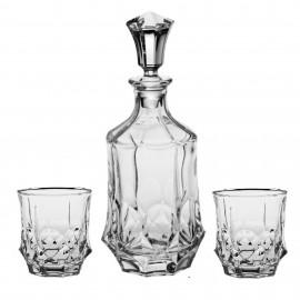 Набор для виски, 1 штоф 750 мл + 6 стаканов (280 мл)