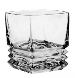 Набор для виски Maria barware 1 штоф 800 мл + 6 стаканов (300 мл) из хрусталя Crystal Bohemia