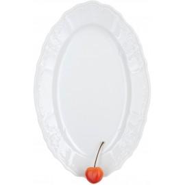 Блюдо овальное 26 см не декорированное