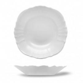 Салатник круглый 23 см не декорированный