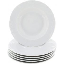 Тарелка глубокая 23 см не декорированное