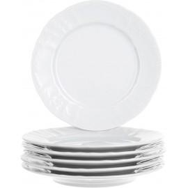 Тарелка десертная 17 см не декорированное