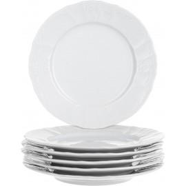 Тарелка десертная 19 см не декорированное