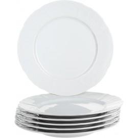 Тарелка мелкая 25 см не декорированное