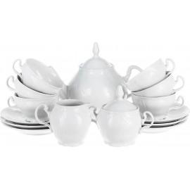 Чайный сервиз Thun не декорированный