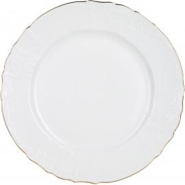Блюдо круглое 32 см декор Отводка золото