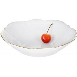Салатник круглый 16 см декор Отводка золото