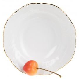 Салатник круглый 25 см декор Отводка золото