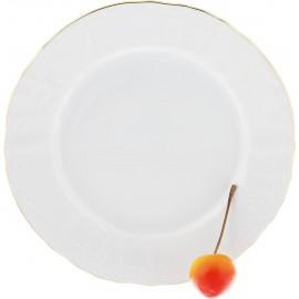 Тарелка десертная 17 см декор Отводка золото