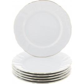 Тарелка десертная 19 см декор Отводка золото