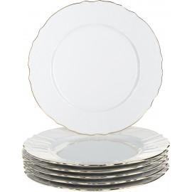 Тарелка мелкая 27 см декор Отводка золото