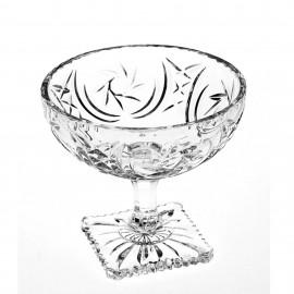 Ваза для фруктов PINWHEEL 11,8 см. из хрусталя Crystal Bohemia
