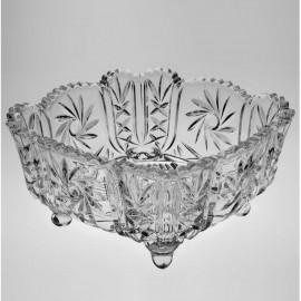 Салатник PINWHEEL 25 см. из хрусталя Crystal Bohemia