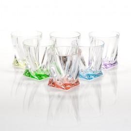 Набор стаканов 340 мл Квадро Арлекино для виски