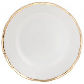 Салатник 13 см Белоснежный тюльпан золотые держатели