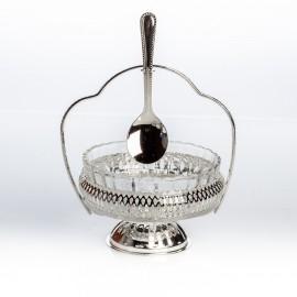 Креманка с ложкой 15 см
