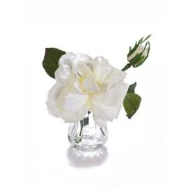 Композиция-мини Цветок Белого Шиповника высота