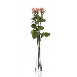 Композиция Easy light pink (роза кремово-розовая)