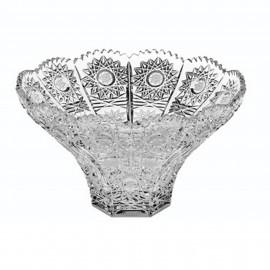 Салатник VICTORIA 500 PK 16 см. богатая шлифовка из хрусталя Crystal Bohemia