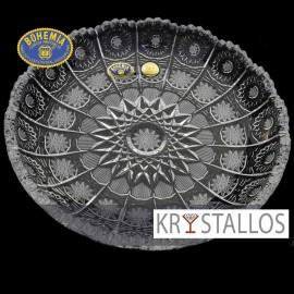 Тарелка 500PK 19 см. (1 шт.) из хрусталя Crystal Bohemia