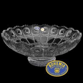 Салатник 500PK 25 см. из хрусталя Crystal Bohemia