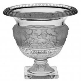 Чаша Antique, Linearis & Anife 25 см. на ножке из хрусталя Crystal Bohemia