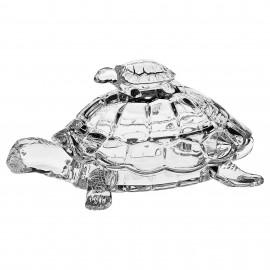 """Доза """"Черепаха"""" BOXES 26,5 см. из хрусталя Crystal Bohemia"""