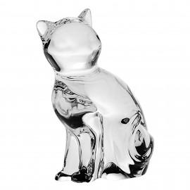 "Фигурка ""Кошка"" ANIMALS 6,6 см. из хрусталя Crystal Bohemia"