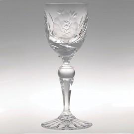 Рюмка African rose 60 мл. (набор 6 шт.) ручная шлифовка из хрусталя Crystal Bohemia