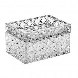 Шкатулка-пепельница Diamond 12 см. из хрусталя Crystal Bohemia
