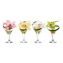Композиция Pink cocktail (Розовый цимбидиум)