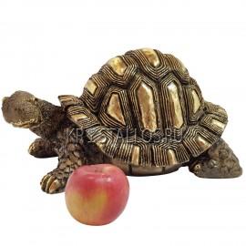 Статуэтка черепаха бронзовое напыление
