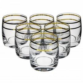 Стаканы для виски Идеал 431842 290 мл. 6 шт. Crystalex Bohemia