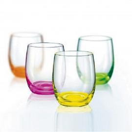 Стаканы для виски Клаб Неон 300 мл низкий 6 шт. Crystalex Bohemia