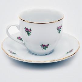 Кофейная пара 6шт. Верона OMD1323 Газенка из фарфора Crystalex