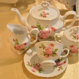 Чайный сервиз 15пр. Maria-teresa G195 из фарфора Сmielow