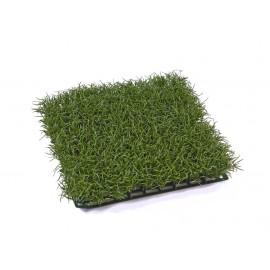 Газон-трава коврик темно-зеленая 26х26 см