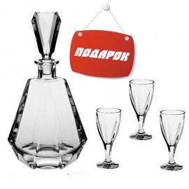 Набор для ликера, водки, 1 графин 500 мл + 6 рюмок (60 мл)