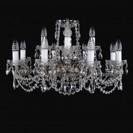 Люстра 1214/8+4/220/G Bohemia Ivele Crystal