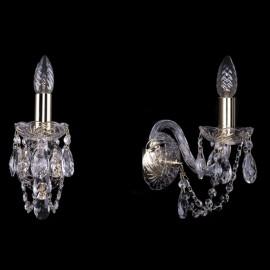 Бра 1400/1/G Bohemia Ivele Crystal