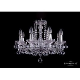 Люстра 1402/8/160/Ni/Balls Bohemia Ivele Crystal