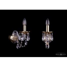 Бра 1600/1/G Bohemia Ivele Crystal