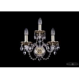 Бра 1600/3/G Bohemia Ivele Crystal