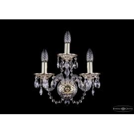 Бра 1600/3/GW Bohemia Ivele Crystal