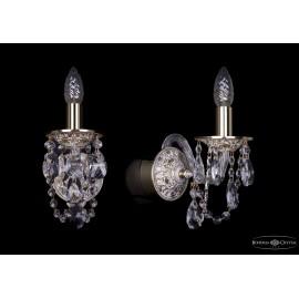 Бра 1610/1/GW Bohemia Ivele Crystal