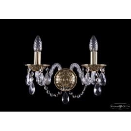 Бра 1610/2/G Bohemia Ivele Crystal