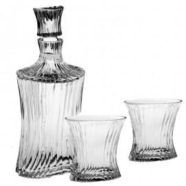 Набор для виски 05101 1 штоф 750 мл + 6 стаканов 250 мл из хрусталя Crystal Bohemia